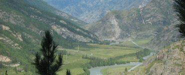 Каньон в горах
