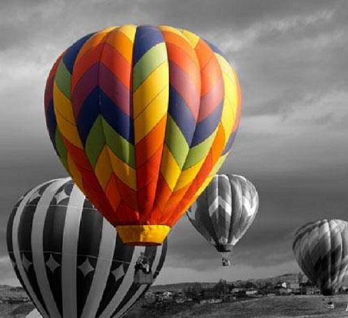 Воздушный шар поборовший депрессию