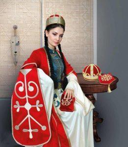 Адыгский национальный костюм