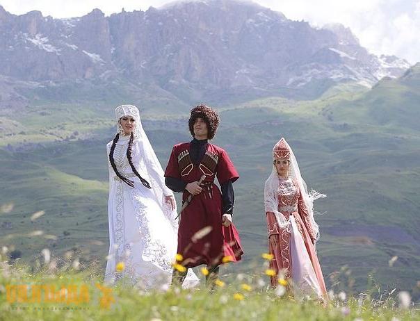 Адыги в горах