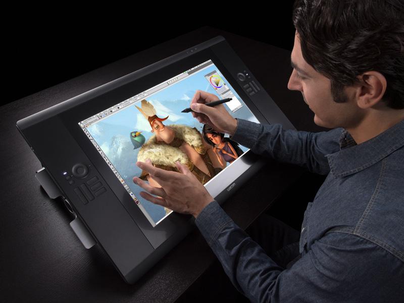 Графический планшет с дисплеем