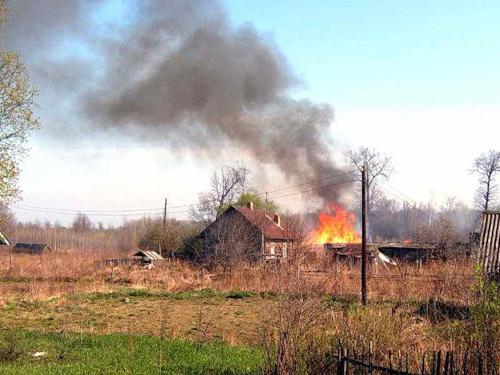 Пожар от весеннего пала