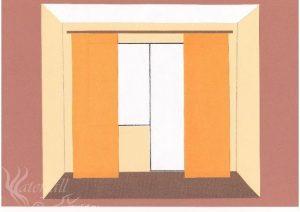 Расчет ткани на шторы