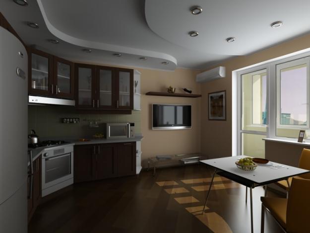 Телевизор кухня