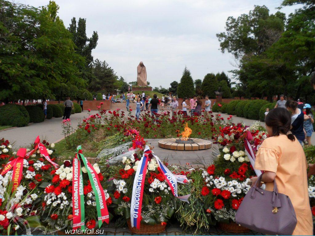 Монумент Вечный Огонь - Ташкент